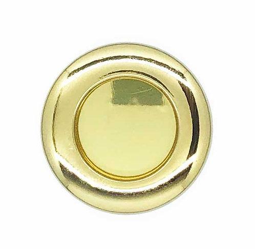 Recess Round Handle H038/058C 40mm GP 0409