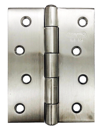 """S/S Riveted Hinges Round Head SS 4"""" x 3"""" x 2mm SS 0126"""