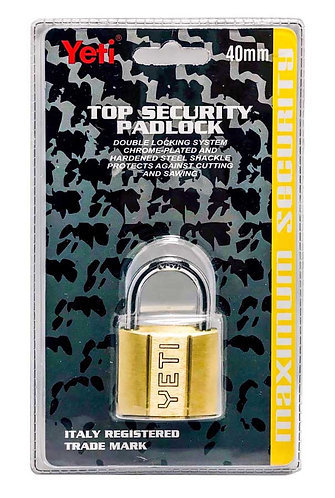 Top Security Padlock L001/V60D Short 40 SB 0119