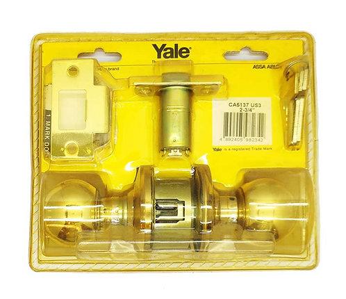 Cylindrical Locksets Entrance CA5137 US3 70mm PB 0354