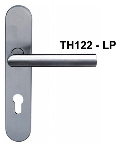 Lever Handle on Plate Stainless Steel TH122-LP 85mm SN 1340