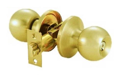 Hall & Closet Tubular Lockset TL-300 605 PB 0312