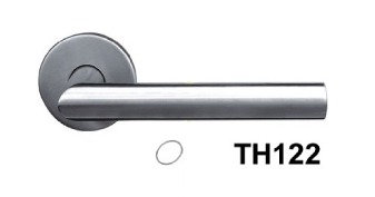 Lever Handle Stainless Steel White Box TH122 SN 1345