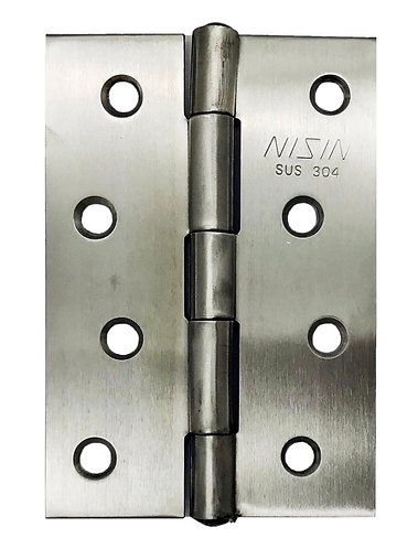 S/S Riveted Hinges 101.6 x 70 x 1.5mm SS 0135