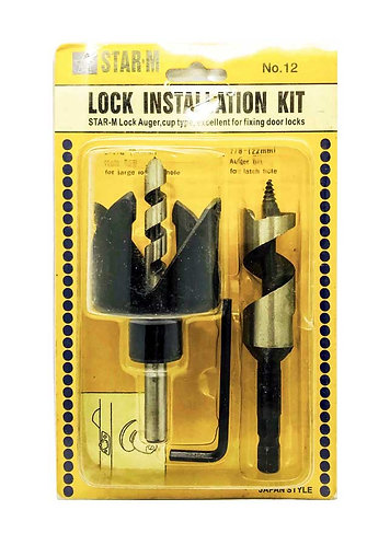 S Lock Installation Kit 54mm, 22mm BL 0175