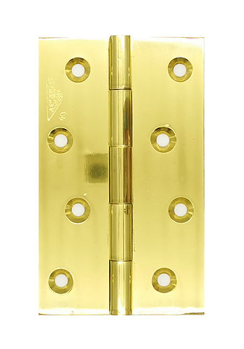 "Brass Hinges 4"" x 2 6/8"" x 2.8mm SB 0117"