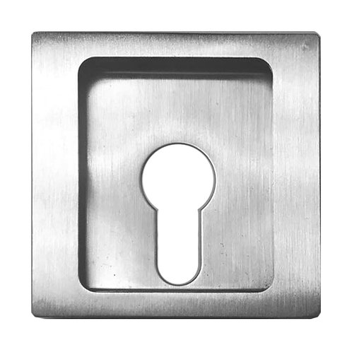 Sliding Recess Handle Square Thumbturn Keyhole CDK-63-1 SS 0139