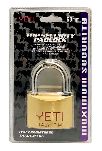 Top Security Padlock L001/V60D Short 60 SB 0112
