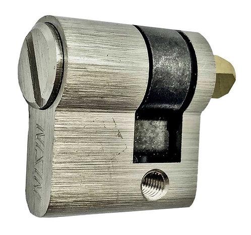 N Half Thumbturn Cylinder BK 29mm SS 0146