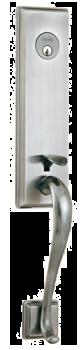Main Entrance HandleSet HM327-619-AS SN 3201