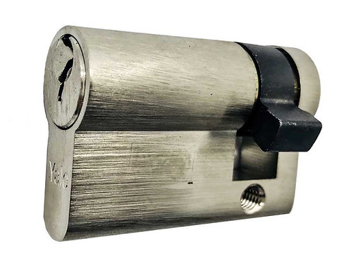 Y Thumbturn Cylinder 3 Keys Supplied 45MM Half TT SN 0166