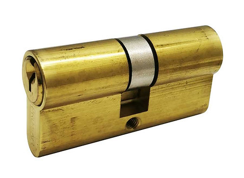 Brass Euro Cylinder Double 24102-060-605 PB 3315