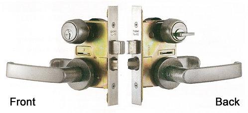 Leverset Cylinder & Thumbturn CL-05-S32P-50-45MW-S SS 1108