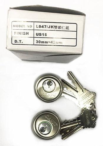 Both Side Key Cylinder L047/JK (DB) 30mm SN 1173