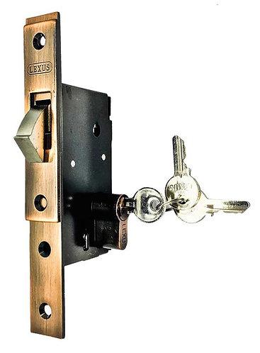 Sliding Door Lock w Single Thumbturn Cylinder L001/705 AC 0116