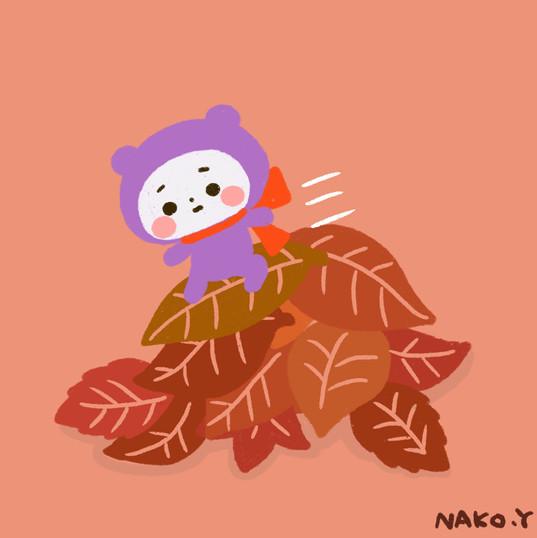 枯れ葉滑り.jpg