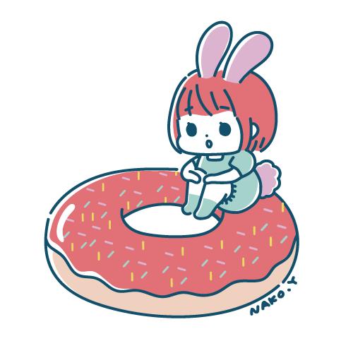 ドーナツうさ