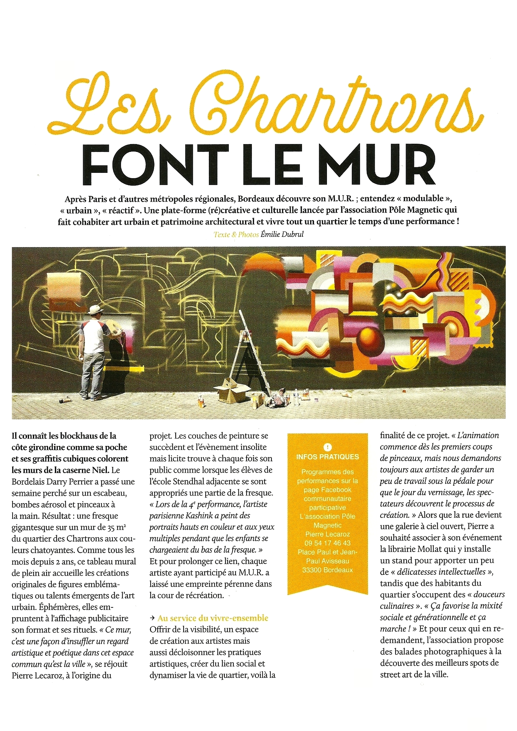 Article paru dans Vivre Bordeaux le 10-07-2017 (1)