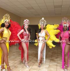 Danseuses brésil