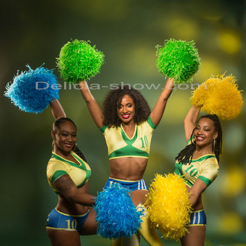 Pompom girls thème brésil