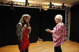 Clown Lyon stage atelier - chantal poullain
