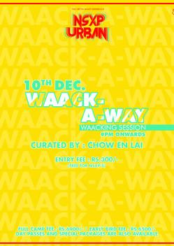 NSXP Urban   Waack-A-Way with Chow En Lai ✨