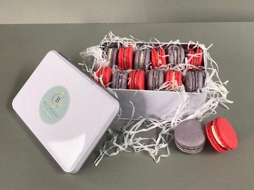 Macarons in a Tin