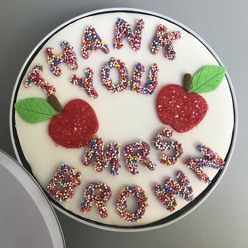 Personalised Cake in a Tin