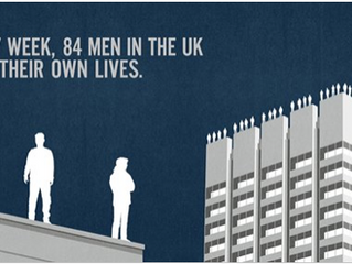 Every week in the UK, 84 men take their own lives #project84