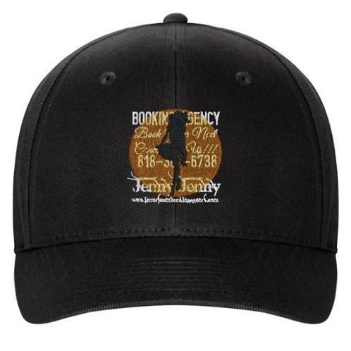 BLK/GOLD JJ LOGO CAP