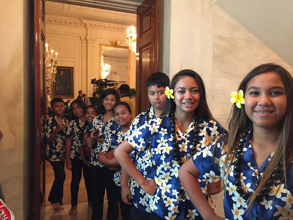 TA Hawai'i at the White House
