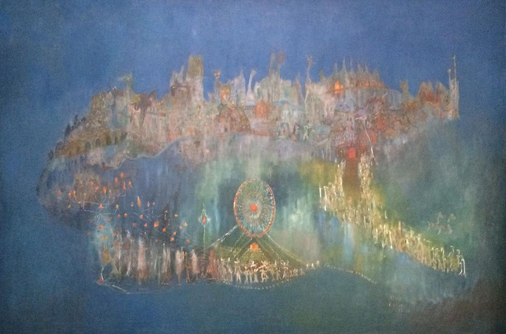 ballad of Frida Kahol painting rahon