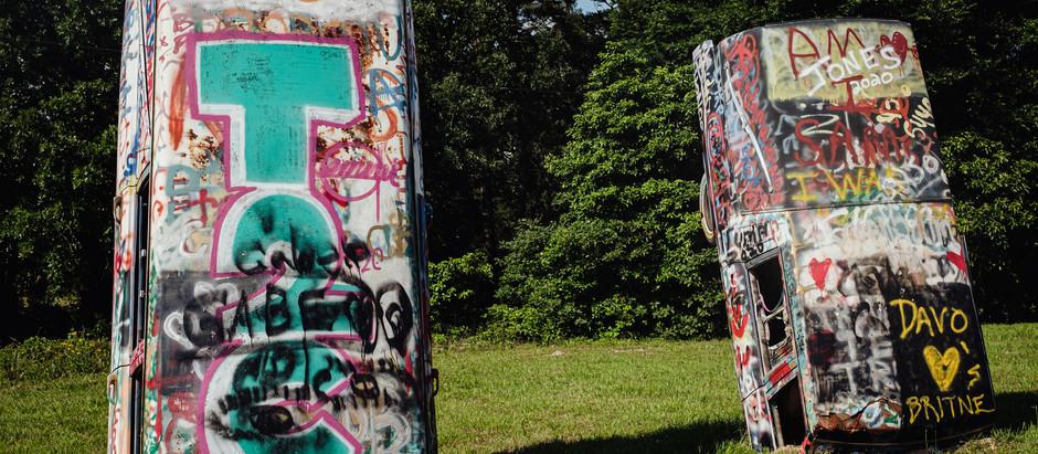 East Texas Graffiti Hearses