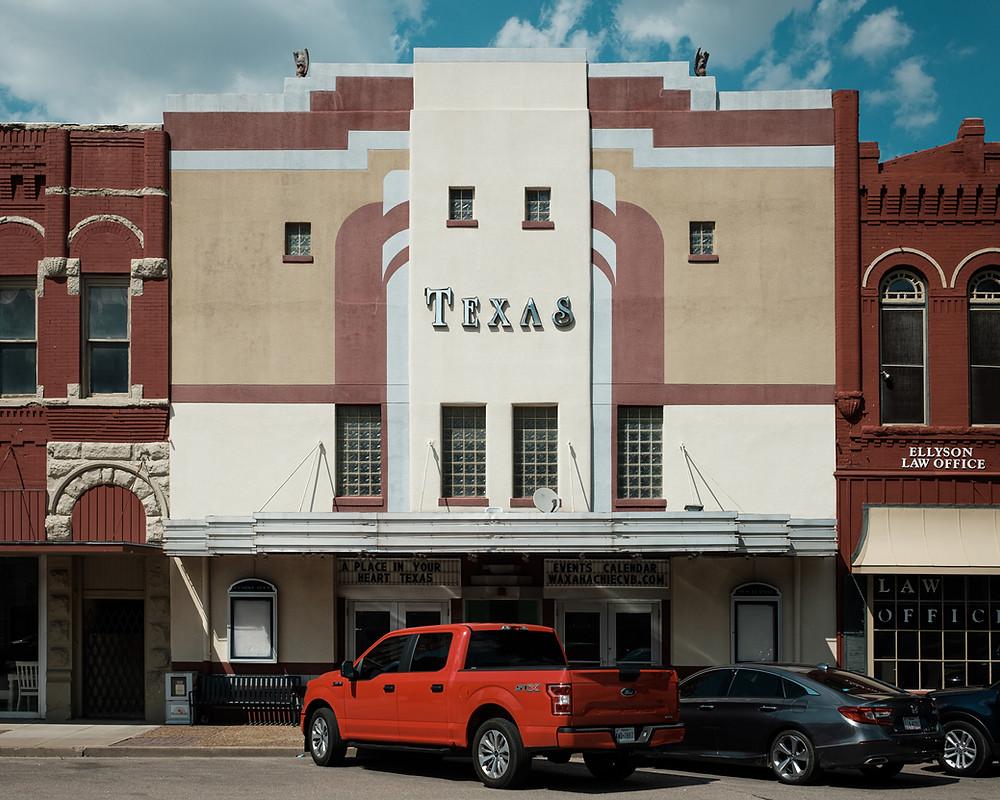 Texas Theater historic facade
