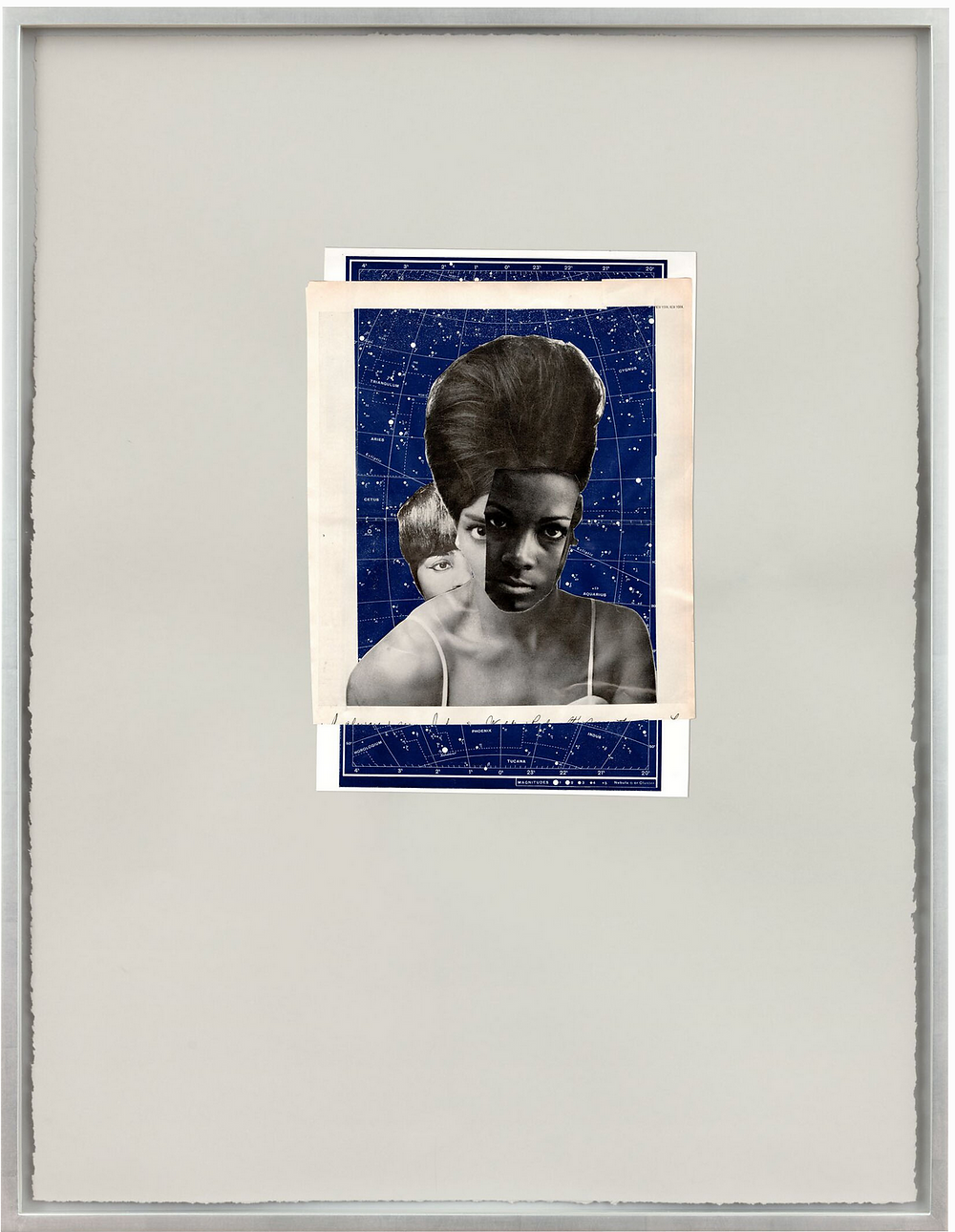 collage of african american women in front of constellation patterned paper