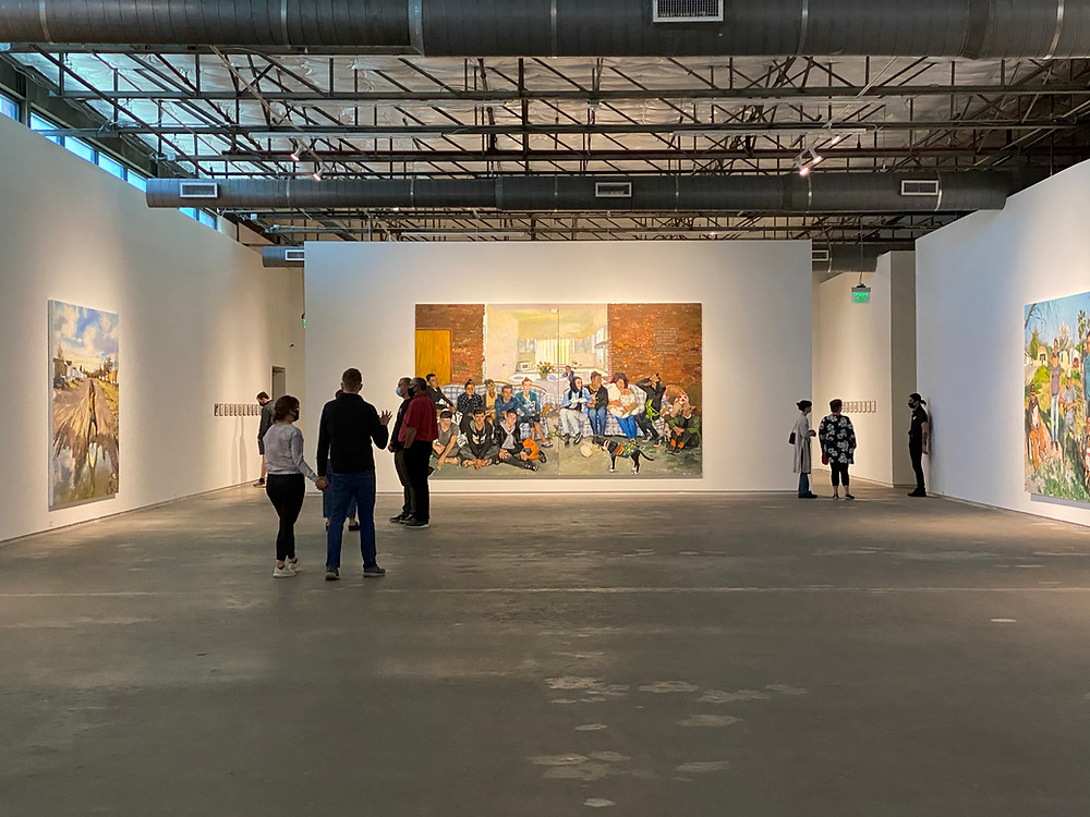 "lieu xiaodong's ""Borders"" at the Dallas Contemporary"