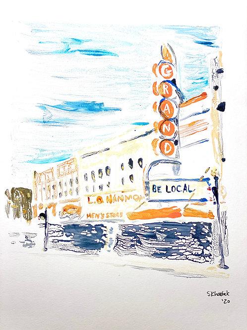 """""""Grand Theater, Paris, Texas"""""""