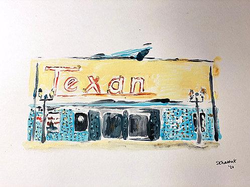 """""""The Texan, Athens, Texas"""""""