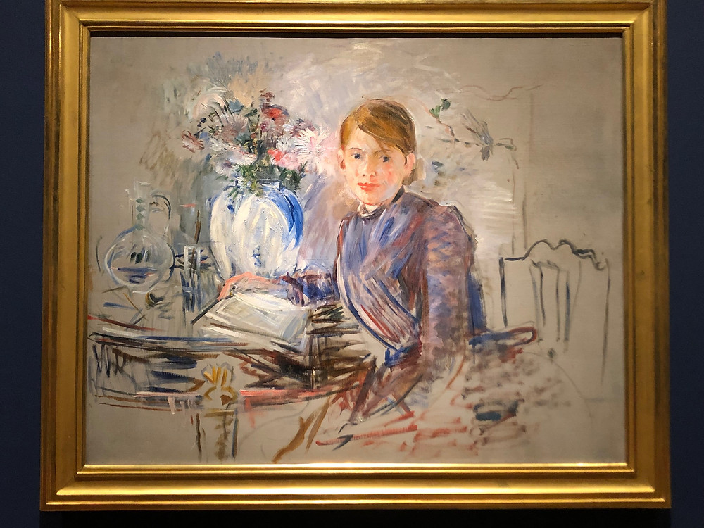 Berthe Morisot's Young Girl With Vase