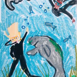 Swimming Sirenians