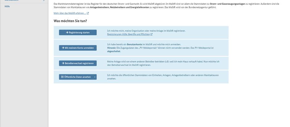 Stromerzeugungsanlagen nach dem EEG oder KWKG und  Stromspeicher: seit dem 31. Januar 2019 registrie