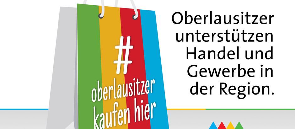 Wir unterstützen die Region: Ab sofort heißt es #oberlausitzerkaufenhier.