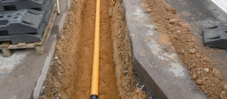 Die Stadtwerke Löbau geben Gas: Stück für Stück wird das Erdgas-Versorgungsnetz modernisiert