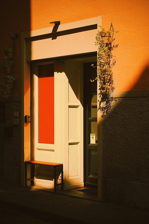 A RED DOOR WELCOME