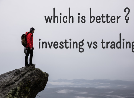 Trading vs investing | detailed explanation with definitions