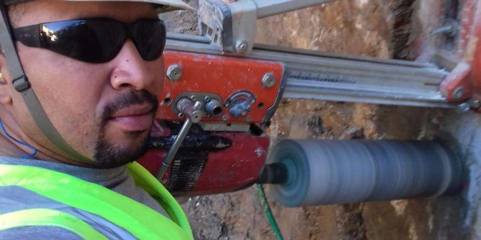 Curso de Formação Operador de Perfuratriz elétrica Manual