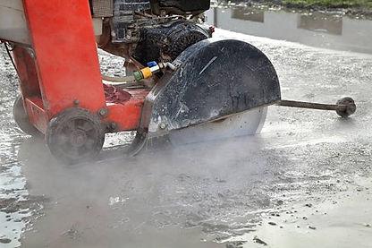 Serra cliper - cortadora de asfalto