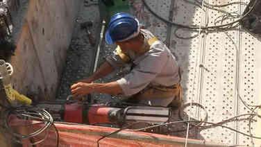 Perfuração concreto Vigas