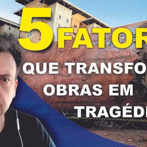 Caixa d'água que desabou em Diadema. 5 Fatores que Transformam Obras em Tragédias.