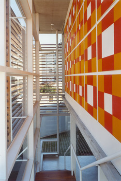 Painel + Escada